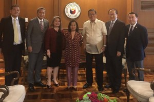 CTB met with House Speaker Gloria Macapagal-Arroyo